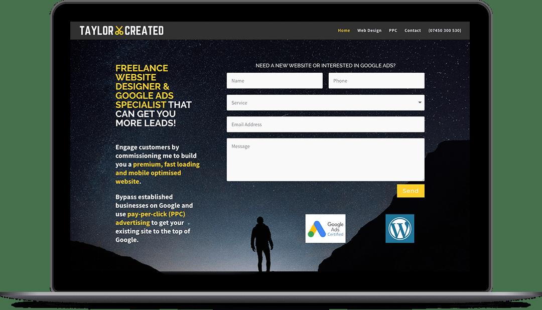 Premium Website Design Example